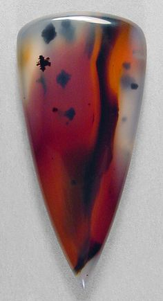 Montana agate cabochon by Sam Silverhawk (sold)