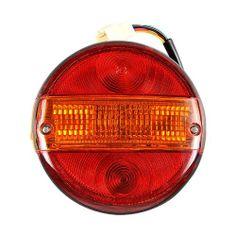 Lot de 2 Feux Arrière ROND – 4 Fonctions – Diamètre 140mm + Ampoule – Auto Remorque etc… | Your #1 Source for Toys and Games