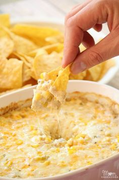 Hot Corn Dip - Let Shelf Scouter help make your trip to the store shorter and less painful! Focus on homemade recipes http://www.shelfscouter.com