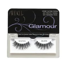 Ardell Fashion Lashes - Wispies Glamour Lashes ($3.89) ❤ liked on Polyvore featuring beauty products, makeup, eye makeup, false eyelashes, ardell, ardell false eyelashes and ardell fake eyelashes