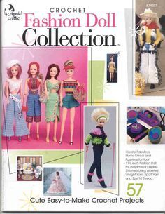Free crochet Barbie outfits and furniture