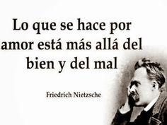 Frase de amor Friedrich Nietzsche