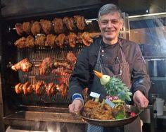 Handarbeit Wood Charcoal, Charcoal Grill, Frankfurt, City Restaurants, Pork, Chicken, Bavaria, Handarbeit, Charcoal Bbq Grill