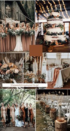 terracotta and greenery - boho theme -forest 2020 wedding color trends. Check it out. Theme Weddings To Die For Top 10 Wedding Color Trends to Inspire in 2020 Rustic Wedding Colors, Fall Wedding Colors, Burgundy Wedding, Unique Wedding Themes, Wedding Color Themes, December Wedding Colors, Copper Wedding Decor, Grey Wedding Theme, Champagne Wedding Colors