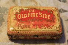 Old Fire Side tea sample tin