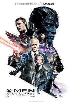 Cartel final IMAX para X-Men: Apocalipsis