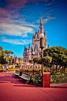 Different angle picture of the castle