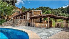 mediterrán családi házak, Ibiza - Luxuslakások és házak Ibiza, Provence, Pergola, Mansions, House Styles, Home Decor, Decoration Home, Manor Houses, Room Decor