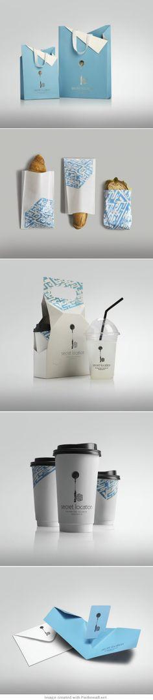 Secret Location Concept Store #identity #packaging #branding PD