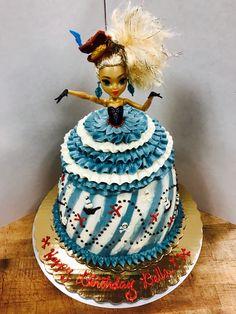 Pirate Doll Cake