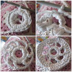 : Virkatun maton ohje Crochet Necklace, Rugs, Diy, Farmhouse Rugs, Google Search, Bricolage, Do It Yourself, Rug, Homemade