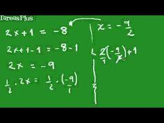 Ecuaciones lineales parte 1