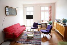 Altbau-Wohnzimmer in Berlin <3
