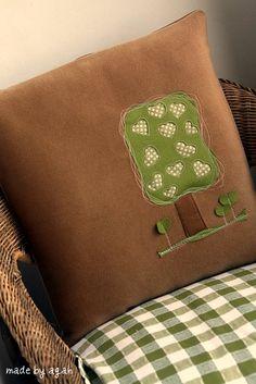 Heart Tree Cushion