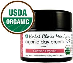 Organic Rose Facial Cream    A Completely Pure Organic Day Cream without Harmful Preservatives    - USDA Certified organic  - No Retinyl palmitate or retinol  - No petroleum based ingredients  - Cruelty-free, vegan and vegetarian  - Packaged in a special violet glass bottle  - No silk protein, fibroin, glucoproteins or sericin  - phthalates free, paraben free, preservative free  - Free from gluten,...