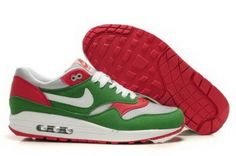 official photos 9f346 236dc Buy Nike Air Max 1 Mens Shoes Lucky-Green White Red High Quality Cheap from  Reliable Nike Air Max 1 Mens Shoes Lucky-Green White Red High Quality Cheap  ...
