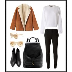 A fashion look from February 2015 featuring white cotton shirt, lapel jacket and cotton stretch pants. Browse and shop related looks. Stretch Pants, Fashion Looks, Polyvore, Cotton, How To Wear, Jackets, Shirts, Shopping, Down Jackets