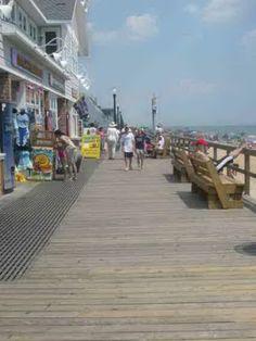 Boardwalk, Bethany Beach Delaware