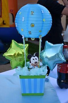 Centro de mesa Baby Mickey Mouse