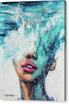 """MerMind"" Canvas Print - Lindsay Rapp Gallery"