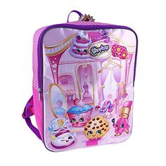 Shopkins Full Size Backpack Amp Dual Compartment Lunch Box