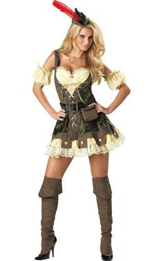 Racy Robin Hood Costume for Women - Party City