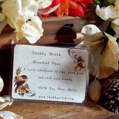 Brandied Pear  Tarts Fall Tarts Winter Tarts by TheShabbyWitch, $4.25