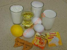 Limonlu Pamuk Kek İçin Gerekli Malzemeler Glass Of Milk, Recipies, Food And Drink, Breakfast, Drinks, Herbs, Recipe, Kitchens, Recipes