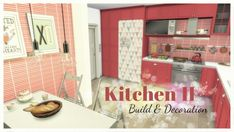Dinha Gamer: Kitchen II room • Sims 4 Downloads