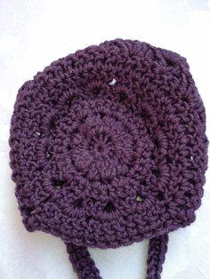 clickforbabies, 2012, back of my I love bonnet