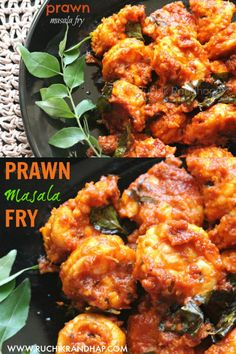 Prawns coated in a fiery masala & shallow fried to perfection! You can't go wrong with this one! #prawns #indianrecipes #indiancuisine #prawnrecipes #mangaloreanrecipes #mangaloreanfood #seafood