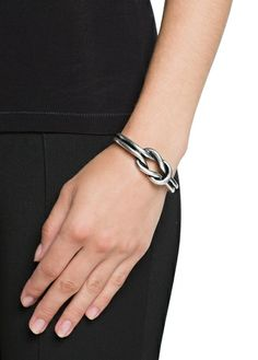 Sailor knot metal bracelet
