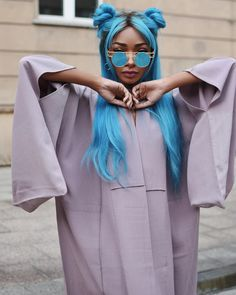 "10k Likes, 58 Comments - Nyané Lebajoa (@nyanelebajoa) on Instagram: ""I have an obsession with Kimonos ⚔️"""