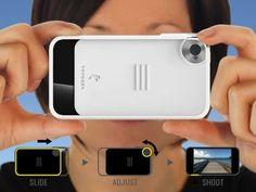 Trygger Camera Case: iPhone 4/4S Polarizing Filter Case by Scott Phillips and Joel Kamerman, via Kickstarter.