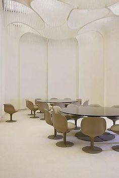 Pierre Paulin | Dining room, Palais de L'Elysee, 1972