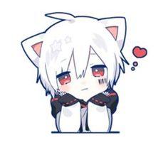 kobayashi-san chi no maid dragon elma chibi stiquer Anime Neko, Anime Cat Boy, Art Anime, Cute Anime Chibi, Cute Anime Pics, Fanarts Anime, Anime Characters, Neko Boy, Chibi Boy