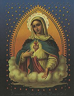 immaculate heart of mary icon - Google Search