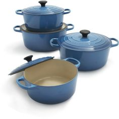 Le Creuset® Signature Marseille Round French Ovens.  Want in purple