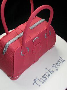 Designer handbag cake, www.LadiesStylish.com