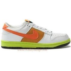 new product 7d86b 015ab 317813 181 Nike Womens Dunk Low White Orange Blaze K04020
