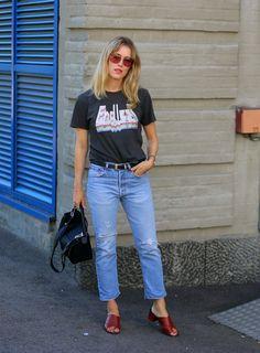 Annabel Rosendahl rockin' ATP Atelier sandals Felicia #atpatelier #inatpatelier…