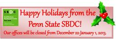 Happy Holidays! Small Business Development Center, Happy Holidays, Happy Holi
