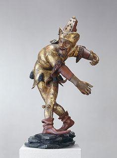Erasmus Grasser, Morris Dancer ('Fringed Man'), 1480, Münchner Stadtmuseums