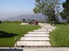 For the front walkway. Permeable Patios - contemporary - landscape - Cassy Aoyagi, FormLA Landscaping