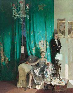 The Nightingale by James Durden (British 1878-1964)