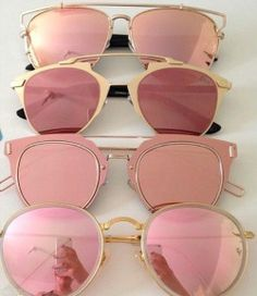 loubis-and-champagne:  pink sunnies [rayban] [dior]