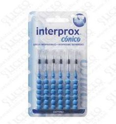 CEPILLO DENTAL INTERPROXIMAL INTERPROX CONICO 6 UNIDADES