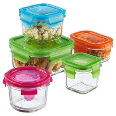 The Container Store > Glasslock Clean & Fresh Glass Food Storage, Food Storage Containers, Jar Storage, Glass Containers, Storage Ideas, Dog Food Container, Container Store, Dry Dog Food, Fresh And Clean