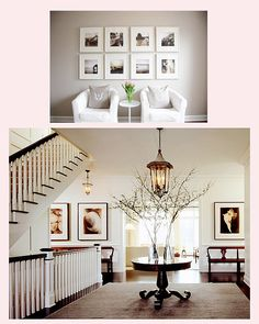 Image result for displaying wedding photos at home