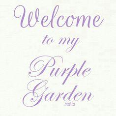 Finding My Secret Garden Violet Garden, Purple Garden, Colorful Garden, English Bluebells, Country Cottage Garden, My Secret Garden, Garden Theme, Glass Garden, Cute Images